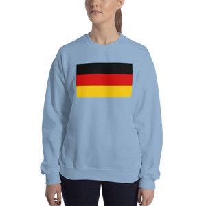 Light Blue / S Germany Flag Sweatshirt by Design Express