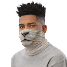 White Lion Neck Gaiter Masks by Design Express