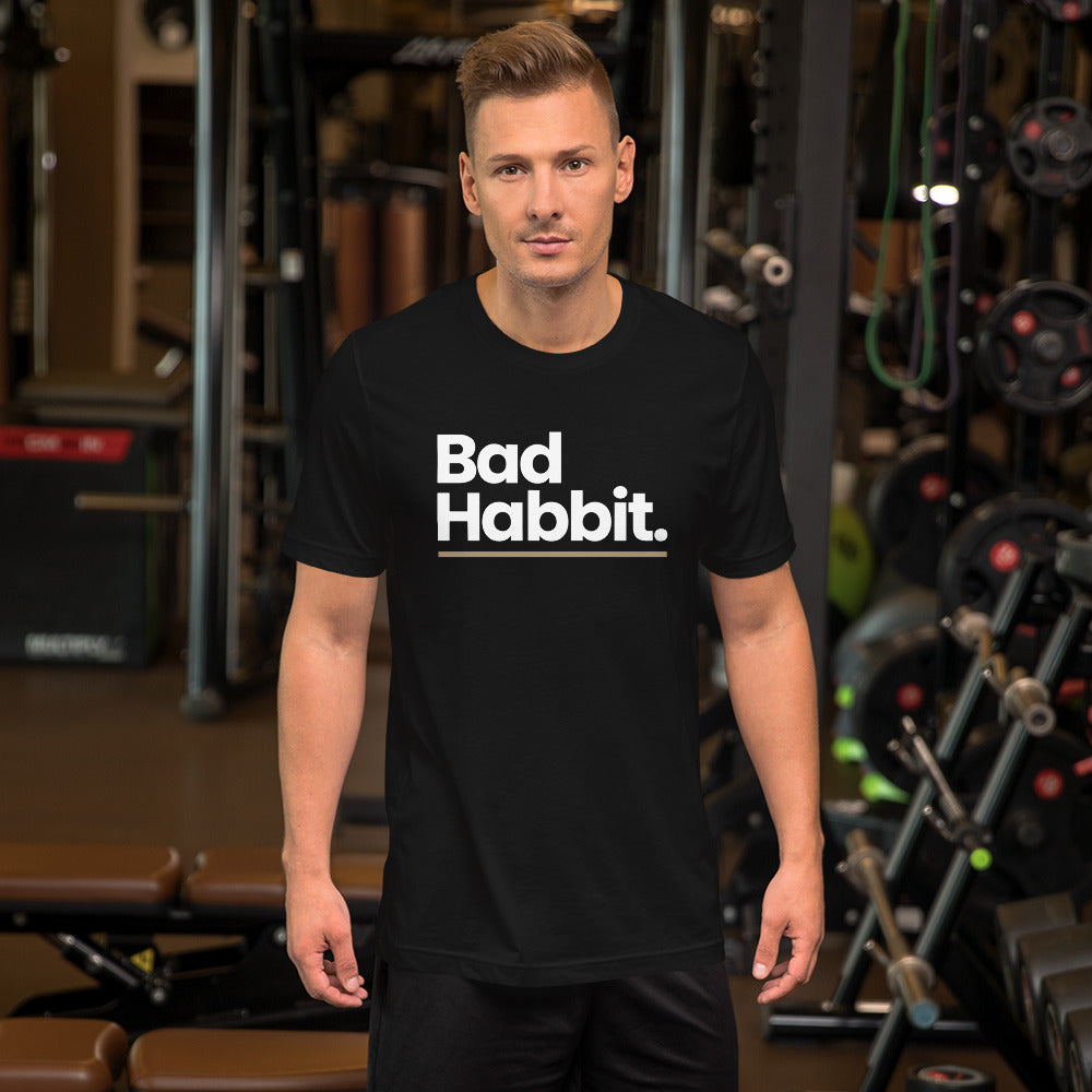 XS Bad Habbit Short-Sleeve Unisex T-Shirt by Design Express