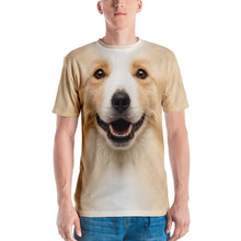 "XS Border Collie ""All Over Animal"" Men's T-shirt All Over T-Shirts by Design Express"