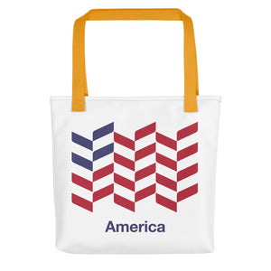"Yellow America ""Barley"" Tote bag Totes by Design Express"