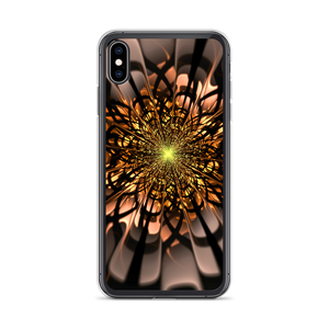 iPhone XS Max Abstract Flower 02 iPhone Case by Design Express