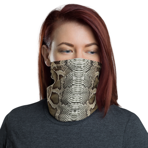 Default Title Snake Skin 02 Neck Gaiter Masks by Design Express