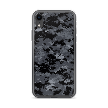 iPhone XR Dark Grey Digital Camouflage Print iPhone Case by Design Express