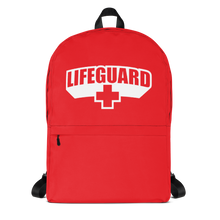Lifeguard Classic Red Backpack
