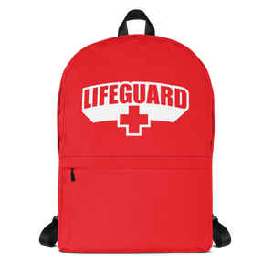 Default Title Lifeguard Classic Red Backpack by Design Express
