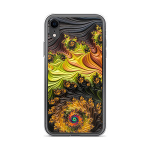 iPhone XR Colourful Fractals iPhone Case by Design Express