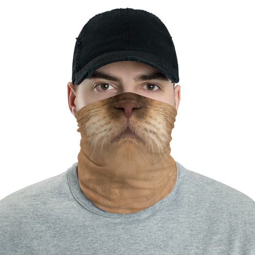 Default Title British Cat Neck Gaiter Masks by Design Express
