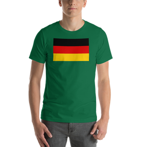 Kelly / S Germany Flag Short-Sleeve Unisex T-Shirt by Design Express