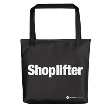 "Black ""Shoplifter"" Tote bag Totes by Design Express"