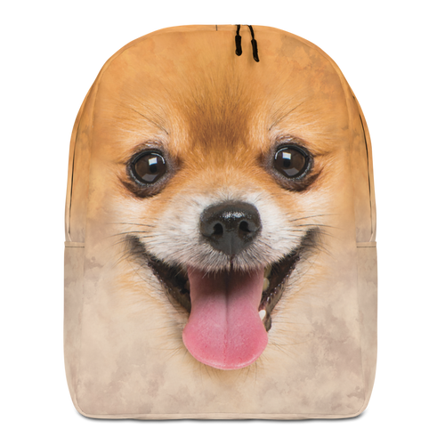 Default Title Pomeranian Dog Minimalist Backpack by Design Express