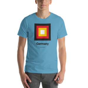 "Germany ""Frame"" Unisex T-Shirt"