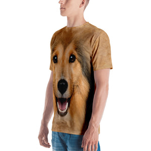 "Shetland Sheepdog ""All Over Animal"" Men's T-shirt All Over T-Shirts by Design Express"