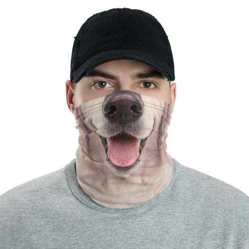 Default Title Golden Retriever Dog Neck Gaiter Masks by Design Express