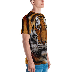 "Tiger ""All Over Animal"" Men's T-shirt All Over T-Shirts by Design Express"