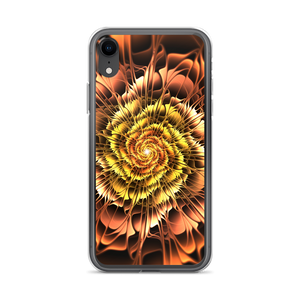 iPhone XR Abstract Flower 01 iPhone Case by Design Express