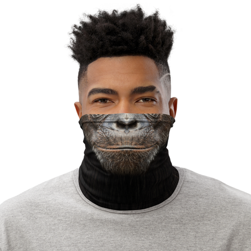 Default Title Chimpanzee Neck Gaiter Masks by Design Express
