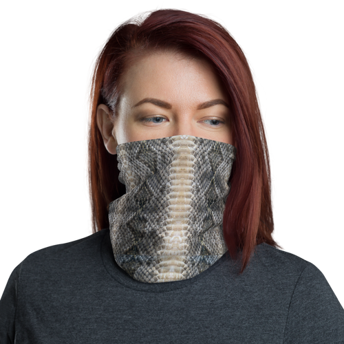 Default Title Snake Skin Print Neck Gaiter Masks by Design Express