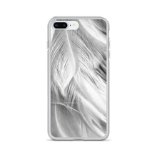 iPhone 7 Plus/8 Plus White Feathers iPhone Case by Design Express