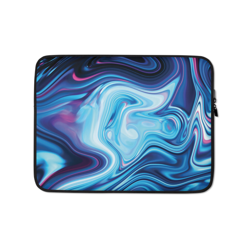 13 in Lucid Blue Laptop Sleeve by Design Express