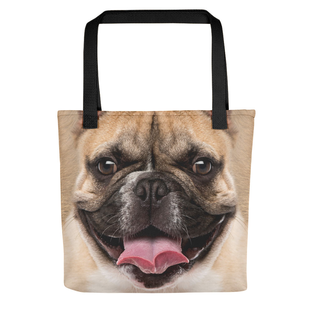 Default Title French Bulldog Dog Tote Bag Totes by Design Express