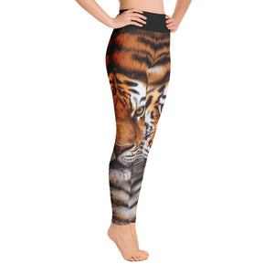 "Tiger ""All Over Animal"" Yoga Leggings by Design Express"