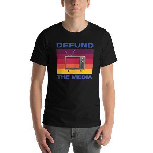 Defund The Media Color Unisex T-Shirt