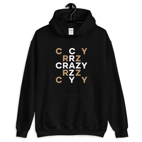 S Crazy Scramble Unisex Hoodie by Design Express
