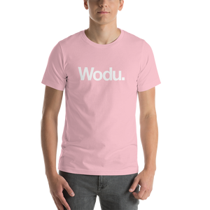"Pink / S Wodu Media ""Everything"" Unisex T-Shirt by Design Express"