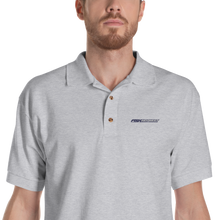 Sport Grey / S Fish Key West Light Embroidered Polo Shirt by Design Express