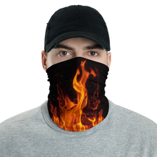 Default Title On Fire Neck Gaiter Masks by Design Express