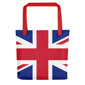 "Red United Kingdom Flag ""All Over"" Tote bag Totes by Design Express"