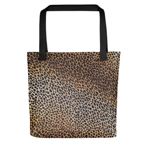 Default Title Leopard Brown Pattern Tote Bag by Design Express