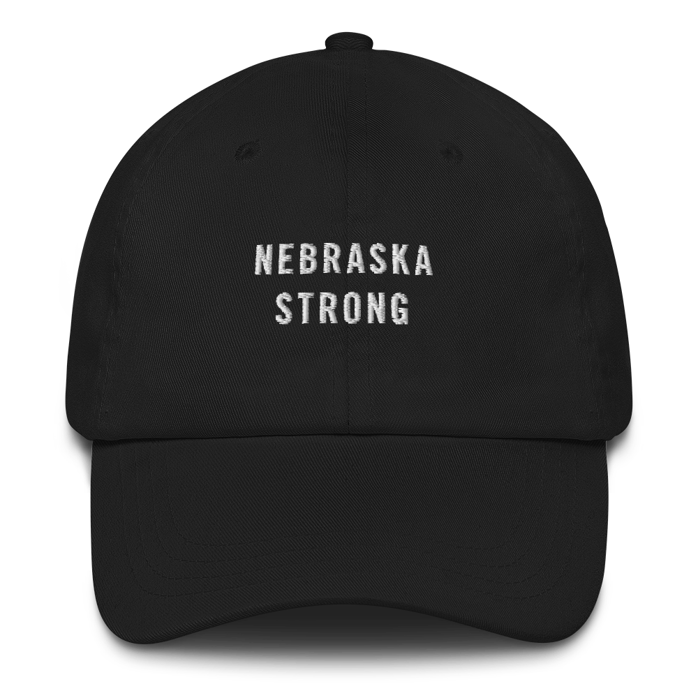 Default Title Nebraska Strong Baseball Cap Baseball Caps by Design Express