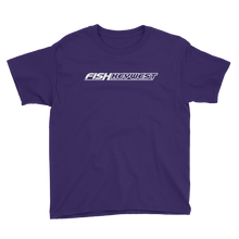 Purple / XS Fish Key West Youth Short Sleeve T-Shirt by Design Express
