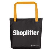 "Yellow ""Shoplifter"" Tote bag Totes by Design Express"