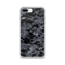 iPhone 7 Plus/8 Plus Dark Grey Digital Camouflage Print iPhone Case by Design Express