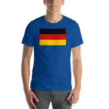 True Royal / S Germany Flag Short-Sleeve Unisex T-Shirt by Design Express