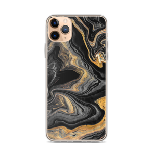 iPhone 11 Pro Max Black Marble iPhone Case by Design Express