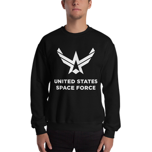 "Black / S United States Space Force ""Reverse"" Sweatshirt by Design Express"