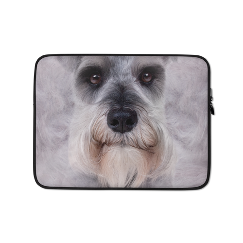 13 in Schnauzer Dog Laptop Sleeve by Design Express