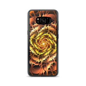 Samsung Galaxy S8 Abstract Flower 01 Samsung Case by Design Express