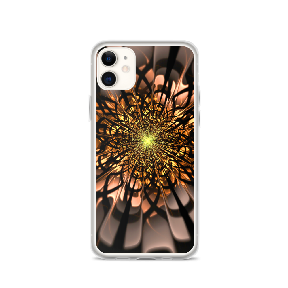 iPhone 11 Abstract Flower 02 iPhone Case by Design Express