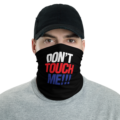 Default Title Don't Touch Me WRB Neck Gaiter Masks by Design Express