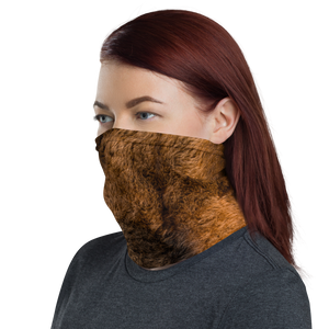 Bison Fur Neck Gaiter Masks by Design Express
