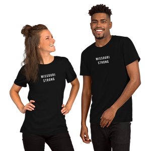 XS Missouri Strong Unisex T-Shirt T-Shirts by Design Express