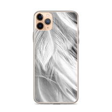 iPhone 11 Pro Max White Feathers iPhone Case by Design Express