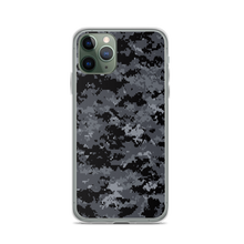 iPhone 11 Pro Dark Grey Digital Camouflage Print iPhone Case by Design Express