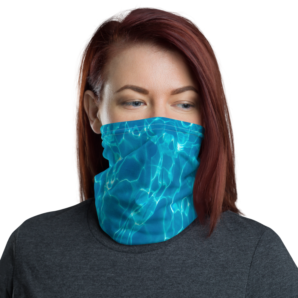 Default Title Swimming Pool Neck Gaiter Masks by Design Express