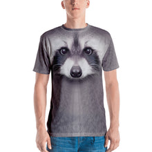 "XS Racoon ""All Over Animal"" Men's T-shirt All Over T-Shirts by Design Express"